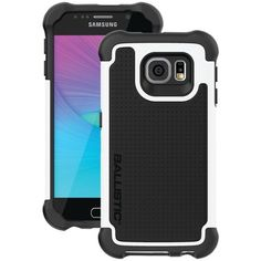 Ballistic Samsung Galaxy S 6 Tough Jacket Maxx Case With Holster (black And White) - MNM Gifts Security Camera System, Home Security Systems, Phone Gadgets, Electronics Gadgets, Ip Camera, Digital Camera, Hardware Software, Electronic Gifts, Surveillance System