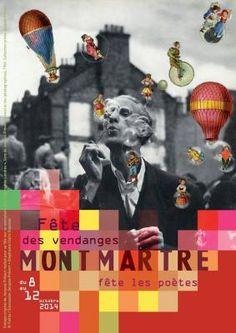 Affiche Fête des vendanges Montmartre 2014