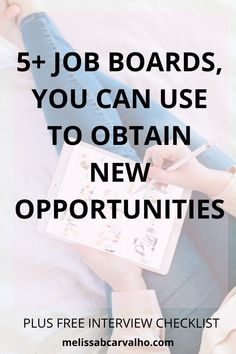 Out of thousands of job boards that are out there… which one is right for you? What are the ones that will carry the opportunities you're looking for the most?Those are some questions I used to ask myself? I know you might be wondering as well. Which ones should I focus my attention on the most?
