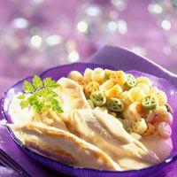 Découvrez la recette Aiguillettes de poulet à l'orange sur cuisineactuelle.fr.