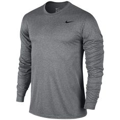 Nike Legend 2.0 Long Sleeve T-Shirt - Men's - Training - Clothing -... (€29) ❤ liked on Polyvore featuring men's fashion, men's clothing, men's shirts, men's t-shirts, mens longsleeve shirts, mens long sleeve shirts, mens training shirts, nike mens shirts and nike mens t shirts