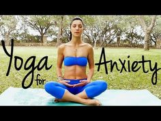 20 Minute Relaxing Yoga for Happiness   Melt Away Anxiety & Stress - YouTube