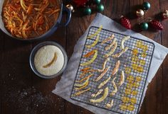 Candied citrus peel from Nourish by Jane Clarke