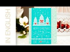 Simon Says Stamp November 2014 Card Kit. Card #2