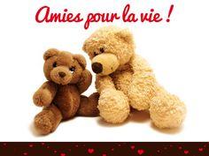 Carte amitié disponible gratuitement sur http://www.starbox.com/carte-virtuelle/cybercarte-amitie/carte-amies-ours