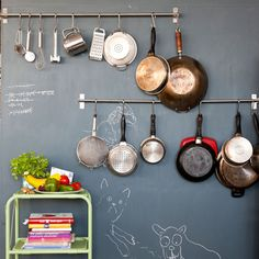 13 Smart Kitchen Organizing Ideas via Brit + Co.