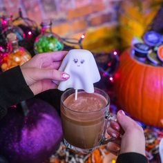 Say 'Boo' and scary on. #Halloween #dolcegusto #CuteGhost
