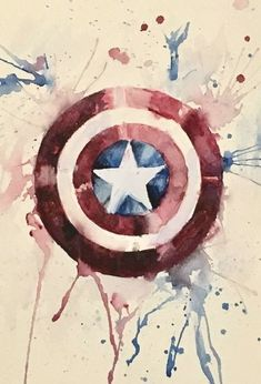 Captain America Tattoo, Captain America Painting, Captain America Sheild, Captain America Drawing, Captain America Costume, Captain America Wallpaper, Captain America And Bucky, Marvel Art, Marvel Avengers