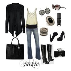 Love of Black, created by jackie22 on Polyvore