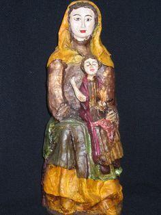 Virgen de Gigosos. S. XIII-XIV  Bercianos del Páramo. León.