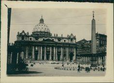 Italia, Roma. Piazza di San Pietro, 1908