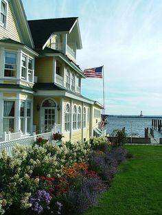 Bay View B in Mackinaw Island...the best!