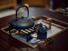 Irori ... Used as a system for heating and cooking in a traditional Japanese home. Photo by Joi Ito ... Fotopedia free app ... 2013