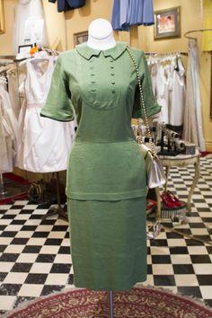 Cabaret Vintage - 1960's Green Vintage Dress, $145.00 (http://www.cabaretvintage.com/vintage-dresses/1960s-green-vintage-dress/) #vintagedress  #vintage #dressvintage #shopping #vintagestore #vintagefashion #ilovevintage #vintagelove #vintagegirl #vintageshopping #vintageclothing #vintagefinds #vintagelover #vintagelook #followme #dressoftheday #ootd  #instastyle #torontovintage #toronto #queenwest #cabaretvintage