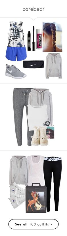 """""""carebear"""" by peaches-743 ❤ liked on Polyvore featuring NIKE, RVCA, Lord & Berry, Chapstick, T By Alexander Wang, Zoe Karssen, Glamorous, Converse, Isabel Marant and Givenchy"""