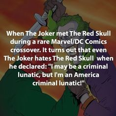 Tag your Friends. #Awesome villain fact @supervillainfacts When the joker met…