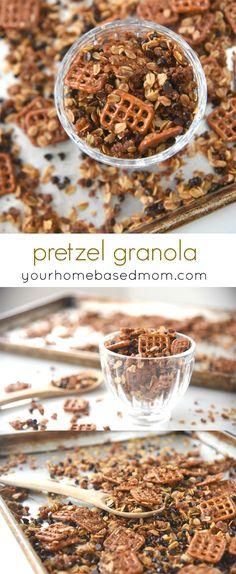 Pretzel Granola Reci