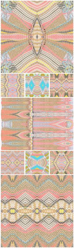 Amazing fibre art by Mana Morimoto