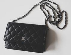 Classic black Chanel purse