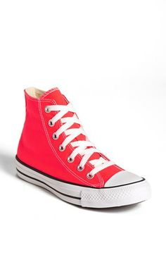 2d8a79280399 Converse Chuck Taylor® All Star®  Fiery Coral  High Top Sneaker (Women)  available at  Nordstrom