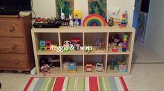 """Comment organiser l'espace """"jeux"""" des enfants :)"""