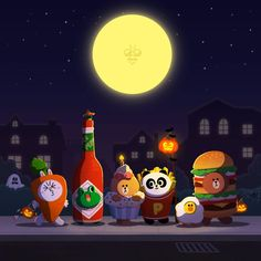 BROWN PIC is where you can find all the character GIFs, pics and free wallpapers of LINE friends. Come and meet Brown, Cony, Choco, Sally and other friends! Lines Wallpaper, Iphone 6 Wallpaper, Bear Wallpaper, Wallpaper Backgrounds, Abstract Backgrounds, Happy Halloween, Halloween Costumes, Halloween Dress, Softies