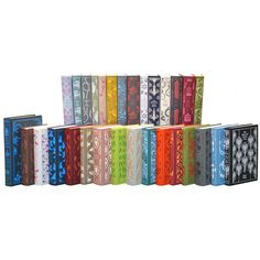 This set of 30 Penguin Classics in colorful hardcovers from Juniper Books is sure to wake up any bookshelf. A fantastic gift for a special occasion!