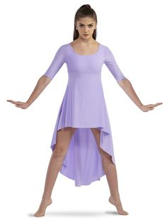 Flowing matte lycra cascade dress with attached boycott trunks in a range of colors. Lyrical Dance Dresses, Dance Outfits, All About Dance, Just Dance, Cute Dance Costumes, Contemporary Dance Costumes, Worship Dance, Festival 2017, Costume Shirts