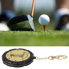 Golf score counter Portable and convenient to use Keep track of your each stroke Records up to 9 shots per hole With a keychain for your easy carrying