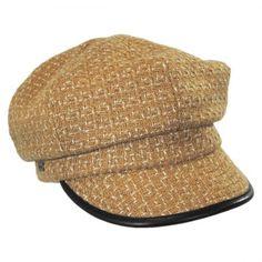 36d719e9 Caron Newsboy Cap by Betmar available at #VillageHatShop Newsboy Cap, Hat  Shop, Caps