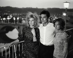 last picture show — the-night-picture-collector:  Monica Vitti, Alain...