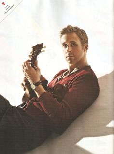 Ryan Gosling~ easily become a favorite actor of mine :)