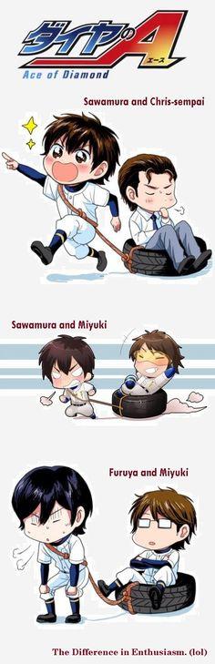 Miyuki is not loved. (lol) | Diamond no Ace