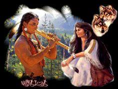 Wolf, Native American Images, Naomi Scott, Native Indian, Nativity, Mona Lisa, Lovers, Artwork, Imagenes De Amor