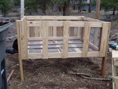 Repurposing a Pallet Into a Rabbit Cage