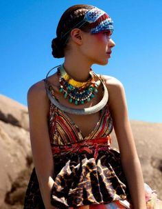Colorful tribal