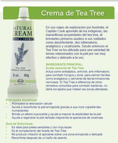 Crema tea tree oferta SOLO LUNES 12/12/16 A $265  (precio lista $530)