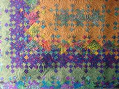 Blooming nine patch, definitely on my quilting bucket list...