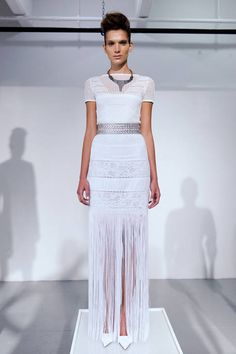 See the entire collection from the Catherine Malandrino Black Label Spring 2013 Ready-to-Wear runway show. Spring Fashion, Fashion Show, Catherine Malandrino, Diy Clothing, Lovely Dresses, Lace Skirt, Ready To Wear, Style Inspiration, How To Wear