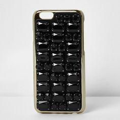Skinny Dip black jewel iPhone 6 case $36.00