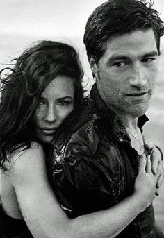 matthew fox; evangeline lilly