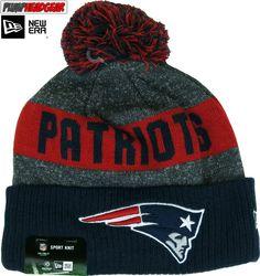 549e51a9 New England Patriots New Era NFL Sideline Sport Knit Bobble Hat Bobble Hats,  Nfl,