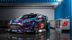 Ford Fiesta Hoonigan Racing: l'auto di Ken Block per il 2013