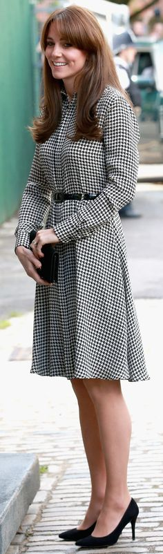 """The Duchess of Cambridge's Stylish, Sophisticated Dress Says, """"I'm Back, Baby"""""""