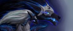 Kindred - League of Legends by Erkfir