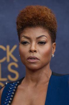 Celebrities Who Embraced Their Natural Hair Texure: Taraji P. Henson