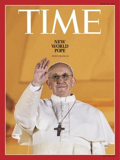 Pope Francis on the first pages of dailies from Argentina to the rest of the world.