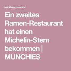 Ein zweites Ramen-Restaurant hat einen Michelin-Stern bekommen | MUNCHIES