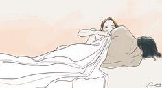 hisahkidraws Sleep tight. ▶Society6◀