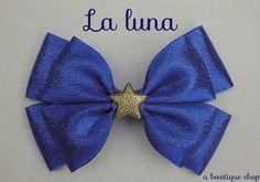 la luna hair bow